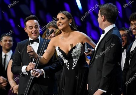 Stock Picture of Exclusive - Anthony McPartlin, Jacqueline Jossa and Declan Donnelly - The Bruce Forsyth Entertainment Award - I'm A Celebrity