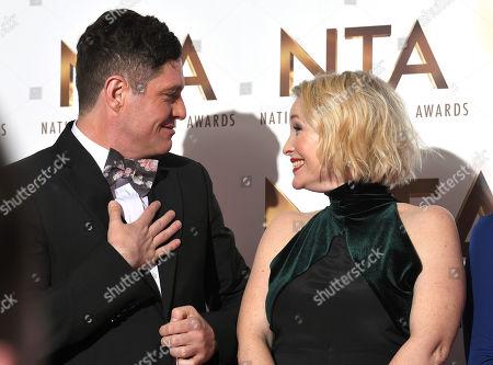 Editorial image of 25th National Television Awards, Press Room, O2, London, UK - 28 Jan 2020