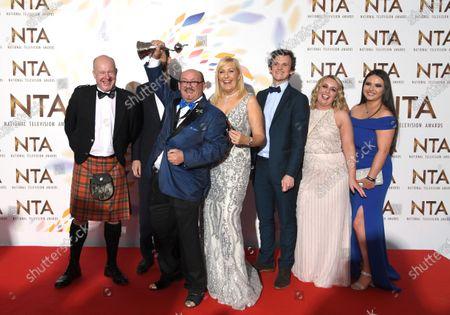 Editorial photo of 25th National Television Awards, Press Room, O2, London, UK - 28 Jan 2020