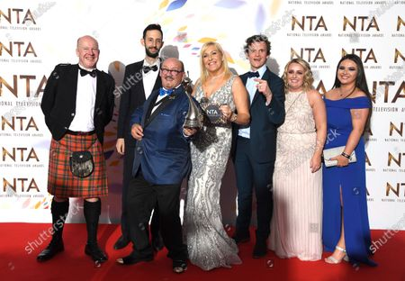 Editorial picture of 25th National Television Awards, Press Room, O2, London, UK - 28 Jan 2020