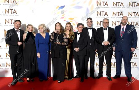 Mathew Horne, Joanna Page, Alison Steadman, Ruth Jones, Laura Aikman, Rob Brydon, Robert Wilfort and Larry Lamb - Impact Award - 'Gavin and Stacey'