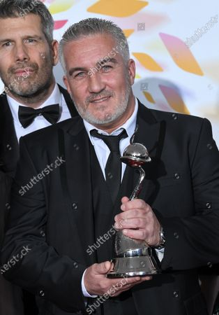 Stock Picture of Paul Hollywood - Challenge Award - 'The Great British Bake Off'