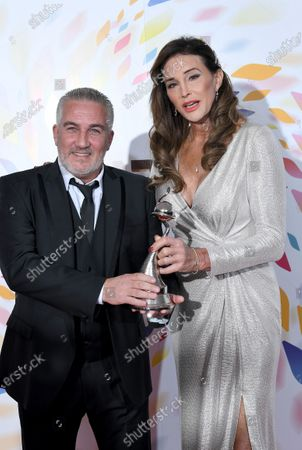 Stock Image of Paul Hollywood - Challenge Award - 'The Great British Bake Off' with Caitlyn Jenner