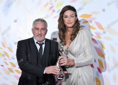 Stock Photo of Paul Hollywood - Challenge Award - 'The Great British Bake Off' with Caitlyn Jenner