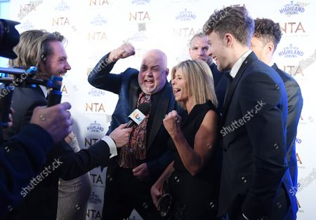 Exclusive - Cliff Parisi, Kate Garraway and Roman Kemp - Entertainment Programme - I'm a Celebrity Get Me Out of Here