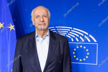 Editorial image of British MPE Dinesh Dhamija at the European Parliament, Brussels, Belgium - 20 Jan 2020