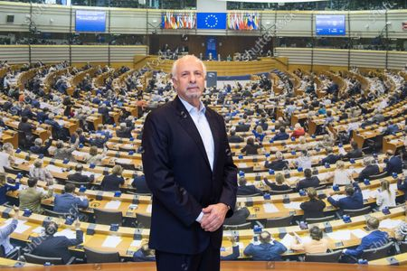 Editorial photo of British MPE Dinesh Dhamija at the European Parliament, Brussels, Belgium - 20 Jan 2020