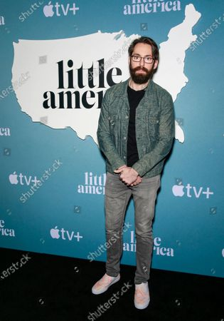 Editorial picture of Apple's 'Little America' TV show premiere, Arrivals, Los Angeles, USA - 23 Jan 2020