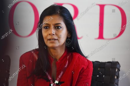 Stock Image of Actor Nandita Das speaks to the media about Citizenship Amendment Act