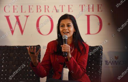 Actor Nandita Das speaks to the media about Citizenship Amendment Act