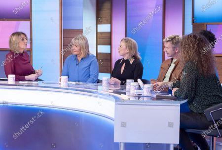 Kaye Adams, Linda Robson, Jayne Torvill, Christopher Dean, Brenda Edwards and Nadia Sawalha