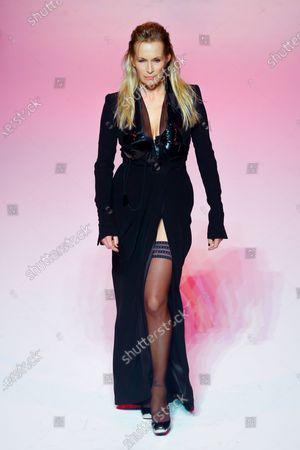 Stock Photo of Estelle Lefebure on the catwalk