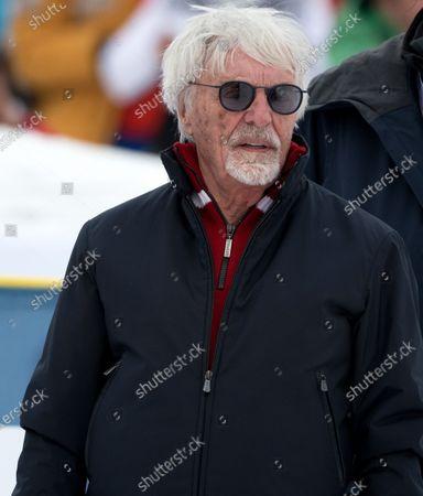 Bernie Ecclestone during the Kitz Charity Trophy 2020 Kitzbuhel