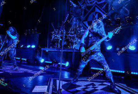 Editorial photo of Machine Head in concert at The Aztec Theatre, San Antonio, USA - 21 Jan 2020