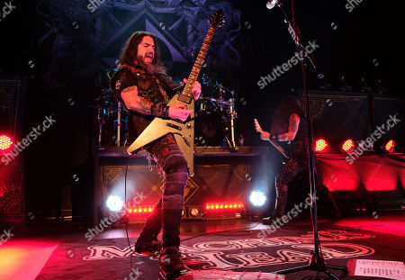 Editorial picture of Machine Head in concert at The Aztec Theatre, San Antonio, USA - 21 Jan 2020