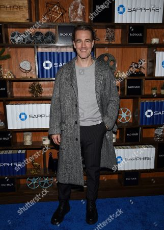 "IMAGE DISTRIBUTED FOR CHASE SAPPHIRE - Actor James Van Der Beek seen at the ""Bad Hair"" after party at Chase Sapphire on Main during the Sundance Film Festival 2020, in Park City, Utah"