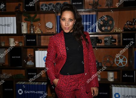 """IMAGE DISTRIBUTED FOR CHASE SAPPHIRE - Actress Robin Thede seen at the """"Bad Hair"""" after party at Chase Sapphire on Main during the Sundance Film Festival 2020, in Park City, Utah"""