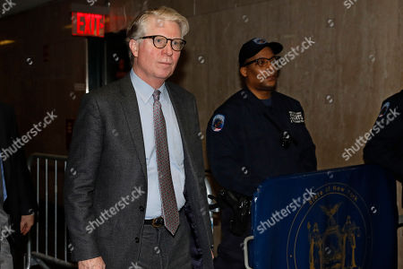 Stock Photo of Manhattan District Attorney Cyrus Vance Jr. returns to court for the Harvey Weinstein rape trial, in New York