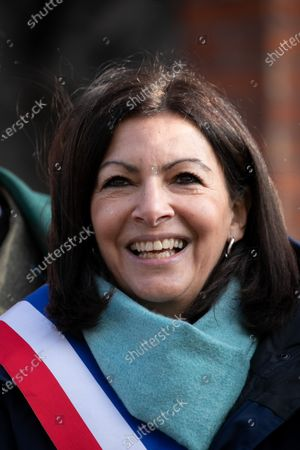 Stock Image of Paris Mayor Anne Hidalgo