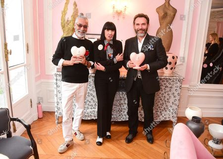 Massimo Monini, Chantal Thomass, Jean Christophe Clair