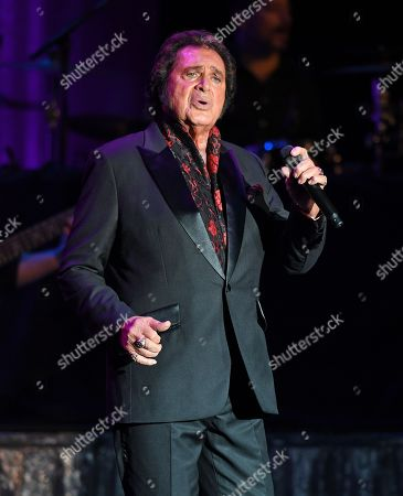 Editorial image of Engelbert Humperdinck in concert at The Parker Playhouse, Fort Lauderdale, USA - 23 Jan 2020