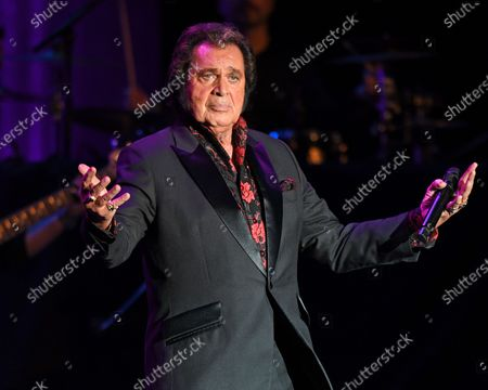 Editorial photo of Engelbert Humperdinck in concert at The Parker Playhouse, Fort Lauderdale, USA - 23 Jan 2020