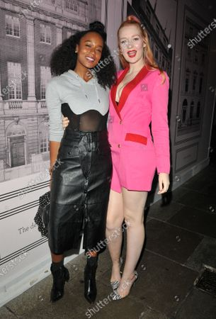 Annaliese Dayes and Victoria Clay