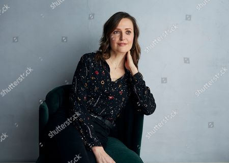 "Clare Dunne poses for a portrait to promote the film ""Herself"" at the Music Lodge during the Sundance Film Festival, in Park City, Utah"