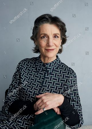 "Harriet Walter poses for a portrait to promote the film ""Herself"" at the Music Lodge during the Sundance Film Festival, in Park City, Utah"