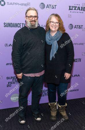 Patrick Hubley and Brenda Chapman