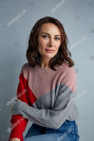 "Laura Benanti poses for a portrait to promote the film ""Worth"" at the Music Lodge during the Sundance Film Festival, in Park City, Utah"