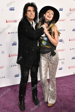 Alice Cooper and Calico Cooper
