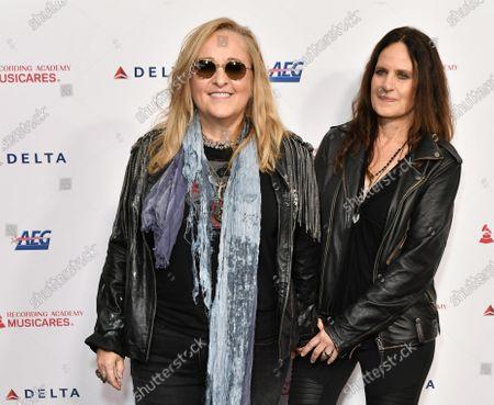 Stock Photo of Melissa Etheridge and Linda Wallem