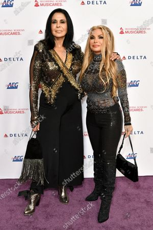 Susan Hughes and Maria Conchita Alonso