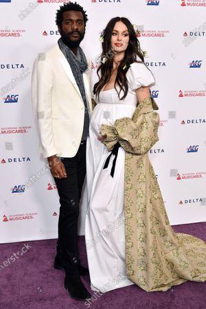 Gary Clark Jr. and Nicole Trunfio