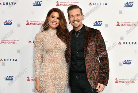 Stock Photo of Damon Sharpe and Hilary Roberts