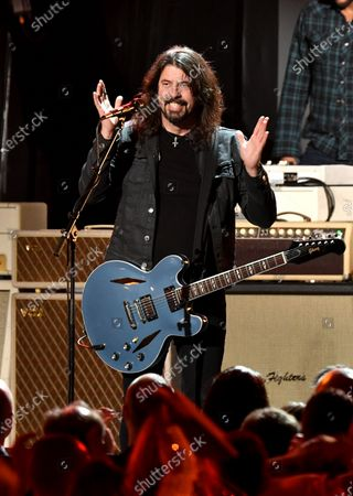 Stock Photo of Dave Grohl of the Foo Fighters