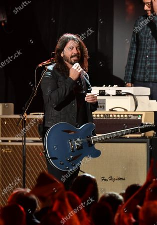 Stock Image of Dave Grohl of the Foo Fighters