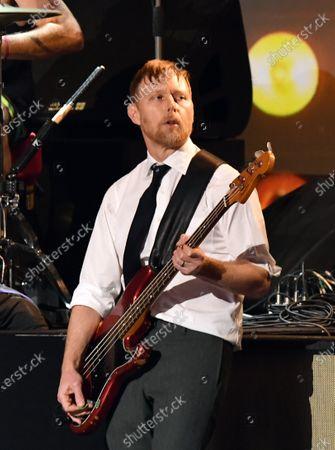 Nate Mendel of the Foo Fighters