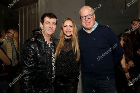Mark Beaven, Olivia Somerlyn and Steve Bartels