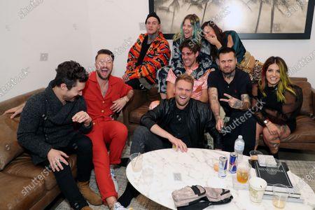 Stock Photo of Max Nash, Jared Eugene Simms, Victoria Evigan, Jared Evigan, Briana Evigan and guests