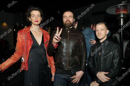 Sibyl Buck, Chris Traynor and Kyle Hoffmann
