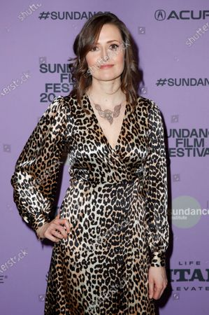 Clare Dunne arrives for the premier of 'Herself' at the 2020 Sundance Film Festival in Park City, Utah, USA, 24 January 2020. The festival runs from 22 January to 02 February 2020.