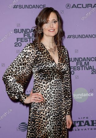 Stock Picture of Clare Dunne arrives for the premier of 'Herself' at the 2020 Sundance Film Festival in Park City, Utah, USA, 24 January 2020. The festival runs from 22 January to 02 February 2020.