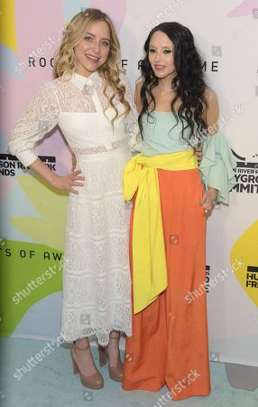 Jenny Mollen and Stacey Bendet