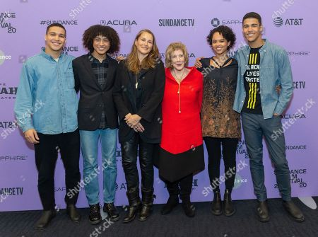 Rio Hope-Gund, Tenzin Gund-Morrow, Catherine Gund, Agnes Gund, Sadie Hope-Gund and Kofi Hope-Gund