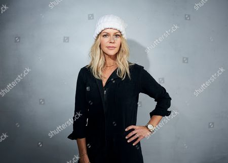 "Kaitlin Olson poses for a portrait to promote ""Quibi"" at the Music Lodge during the Sundance Film Festival, in Park City, Utah"