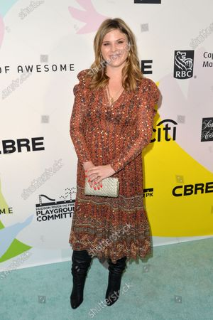 Stock Image of Jenna Bush