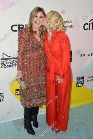 Jenna Bush and Sara Haines