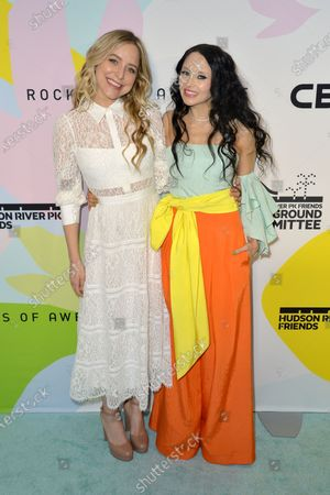 Stock Image of Jenny Mollen and Stacey Bendet